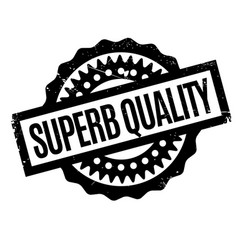 Superb quality rubber stamp vector