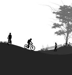 Outdoor activities vector