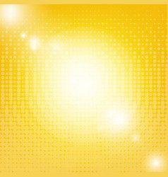 Sun background with blur vector