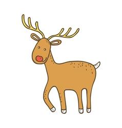 Cute christmas dee vector