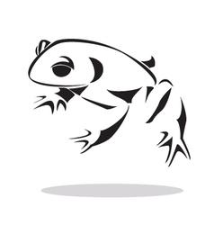frog 2 vector image vector image