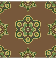 Seamless ethnic ornament vector