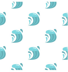 Wave pattern flat vector