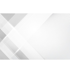 Grey abstract background geometry shine and layer vector