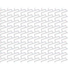 Airmail envelope pattern vector