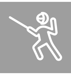 Sword fighting vector