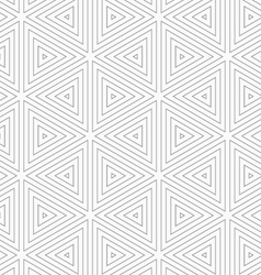 Slim gray triangles vector