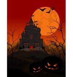 Halloween Kingdom vector image