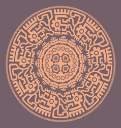 lacy mandala vector image