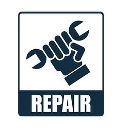 repair design vector image