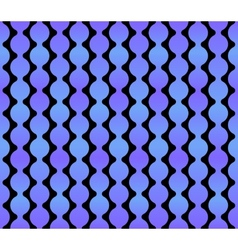 Seamless Geometric Blue Background with Dark Back vector image vector image