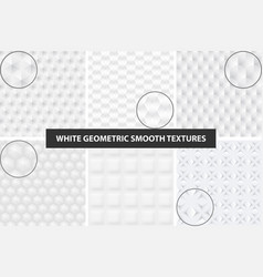 smooth seamless textures vector image vector image