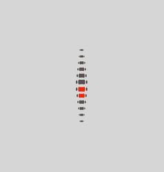 Spine diagnostics symbol design spine pain vector