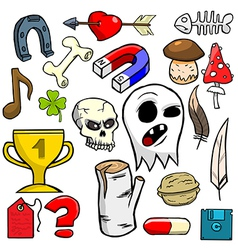 Cartoonish objects vol 6 vector