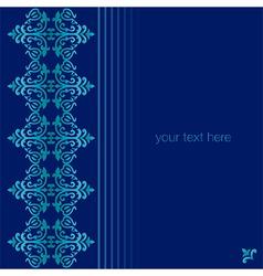 Antique ottoman turkish pattern design seventy one vector