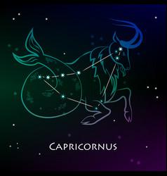 capricornus vector image