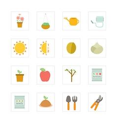 Icon Garden vector image