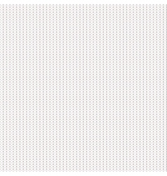 Knitted realistic seamless pattern vector image