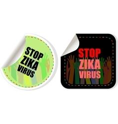 Zika virus symbol zika virus disease - vector
