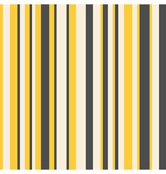 Striped pattern in yellow and dark grey vector