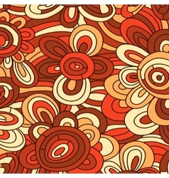 Seamless floral pattern for easy making vector