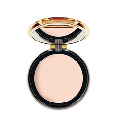 Face cosmetic makeup powder vector