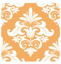 Orange Swirl Pattern vector image