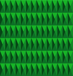 Dimension pattern green color vector
