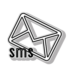 Sms message icon icon graphic vector