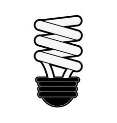 energy saving lightbulb eco friendly icon image vector image