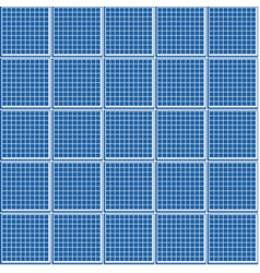 geometric seamless pattern a grid of squares vector image vector image