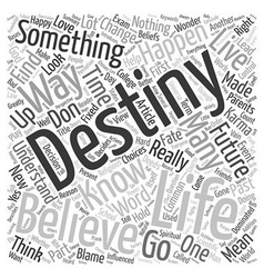 I know my destiny can i change it text background vector