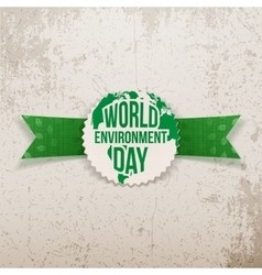 World Environment Day awareness Banner Template vector image