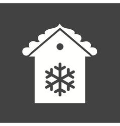 Decorated house vector