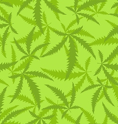 Marijuana is a seamless pattern Background of vector image
