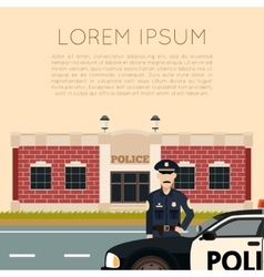 Police Department Banner5 vector image