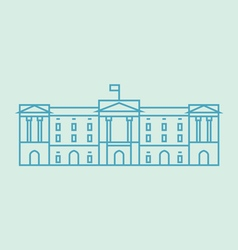 Buckingham palace vector