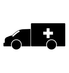 Emergency car vector