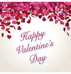 Valentine abstract background vector image