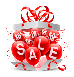 Sale event announcement vector