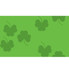 Shamrock background3 vector