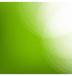 Eco Green Background With Line vector image
