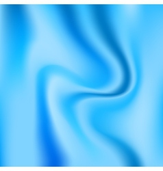 Blue glossy silk abstract background vector image vector image