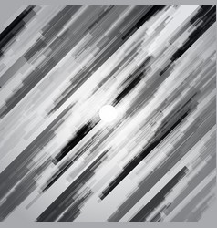 digital geometric lines black and white overlap vector image vector image