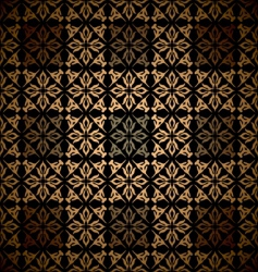Victorian wallpaper pattern vector image