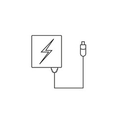 Charger icon vector