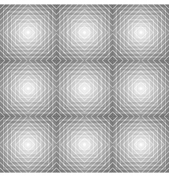 Design seamless diamond trellis pattern vector