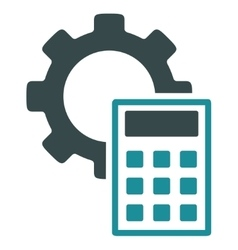 Engineering calculations icon vector