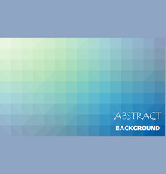 Abstract color mosaic background vector