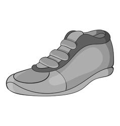 Cleats icon black monochrome style vector